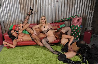 Alexis Texas, Monique Alexander y Kirsten Price mamadas analingus